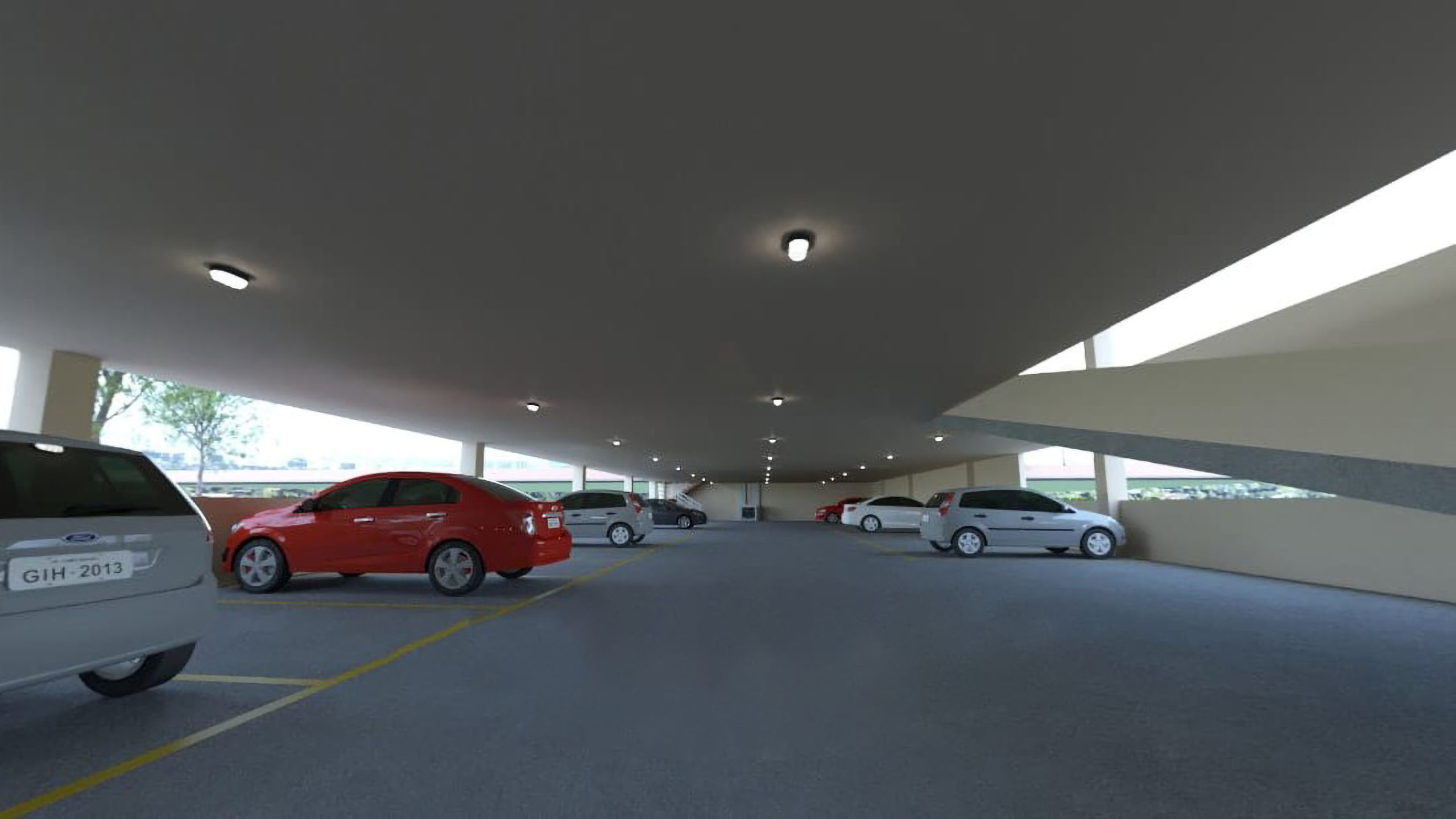 Estacionamento Coberto 2